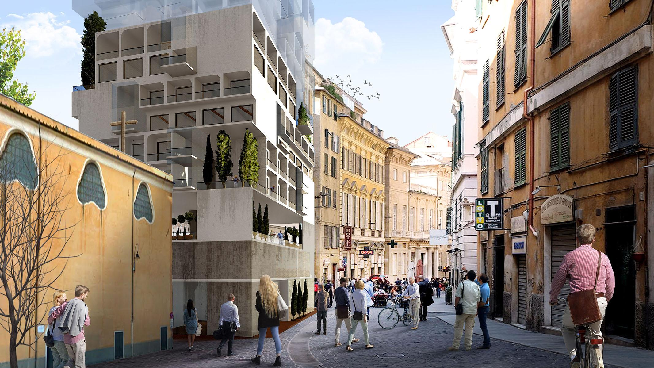 Genoa - A G Tehrani Design Studio - 01 - Section