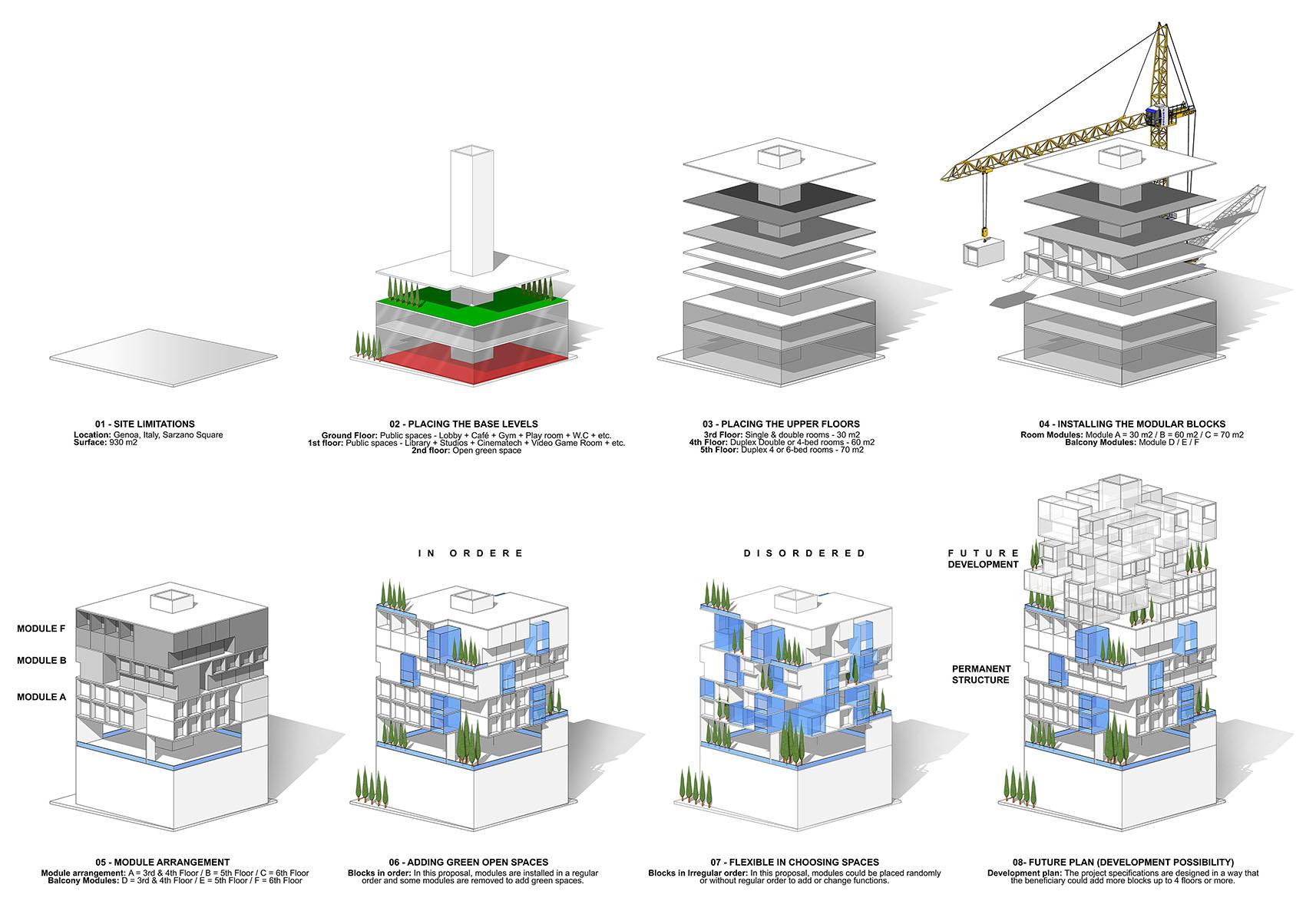 Genoa - A G Tehrani Design Studio - 03 - Section