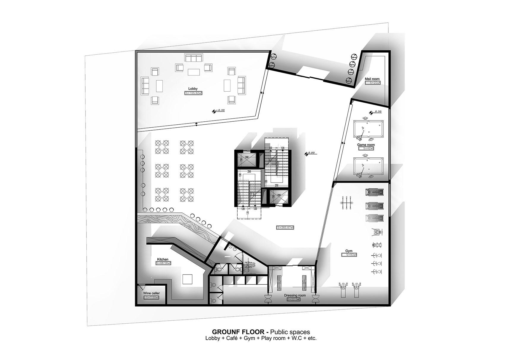 Genoa - A G Tehrani Design Studio - 06 - Section