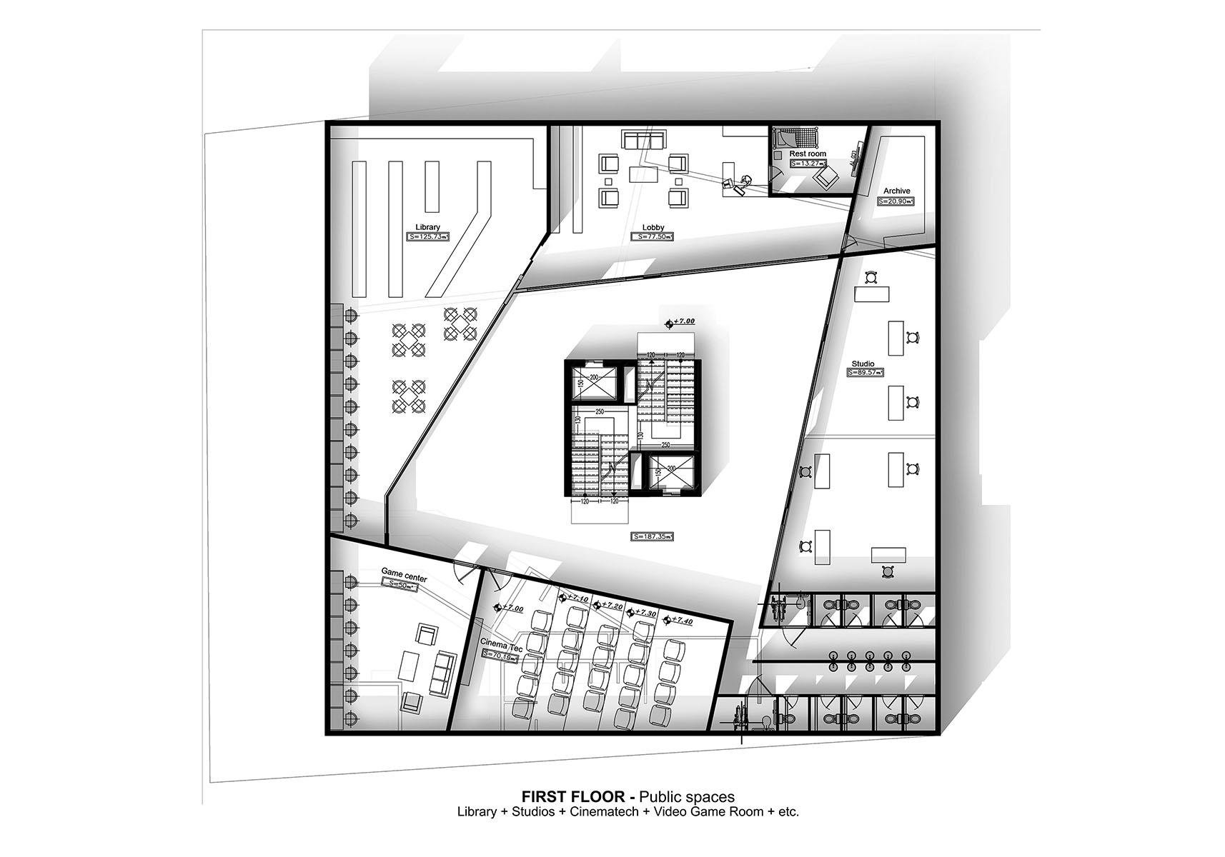 Genoa - A G Tehrani Design Studio - 07 - Section