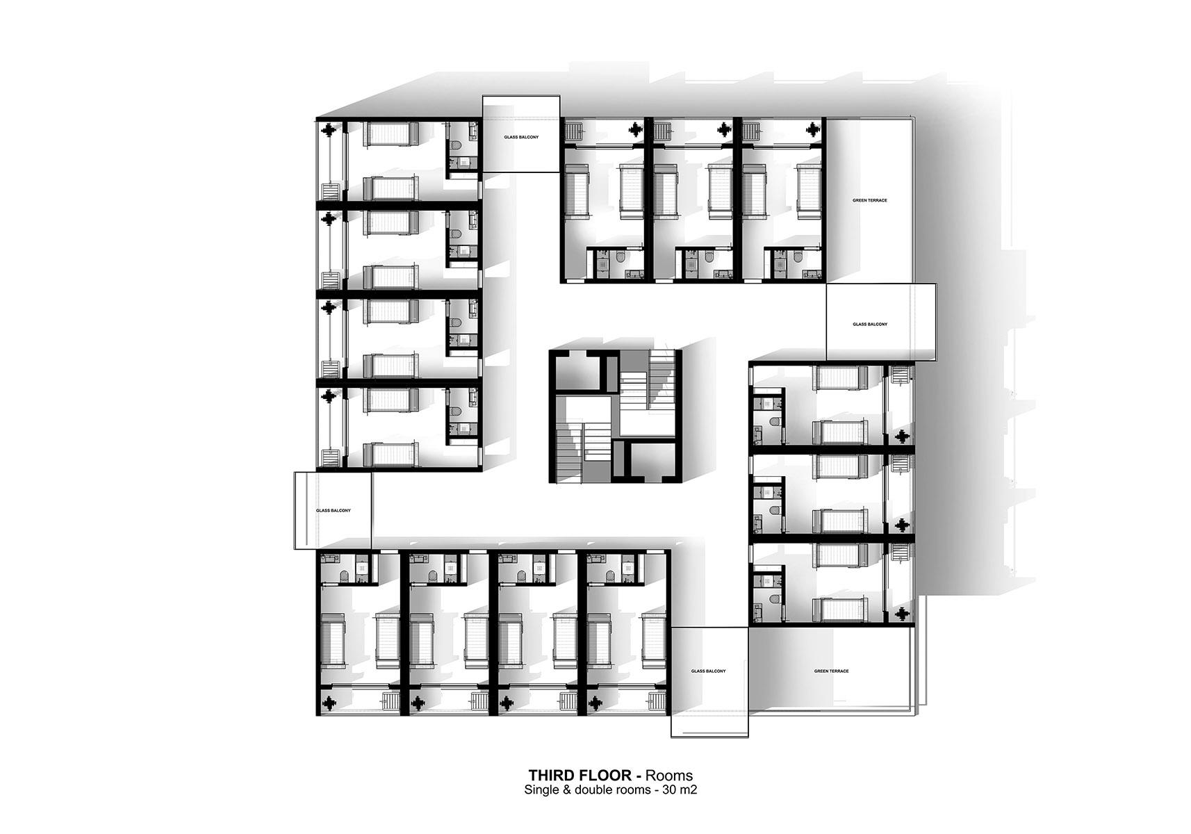 Genoa - A G Tehrani Design Studio - 08 - Section