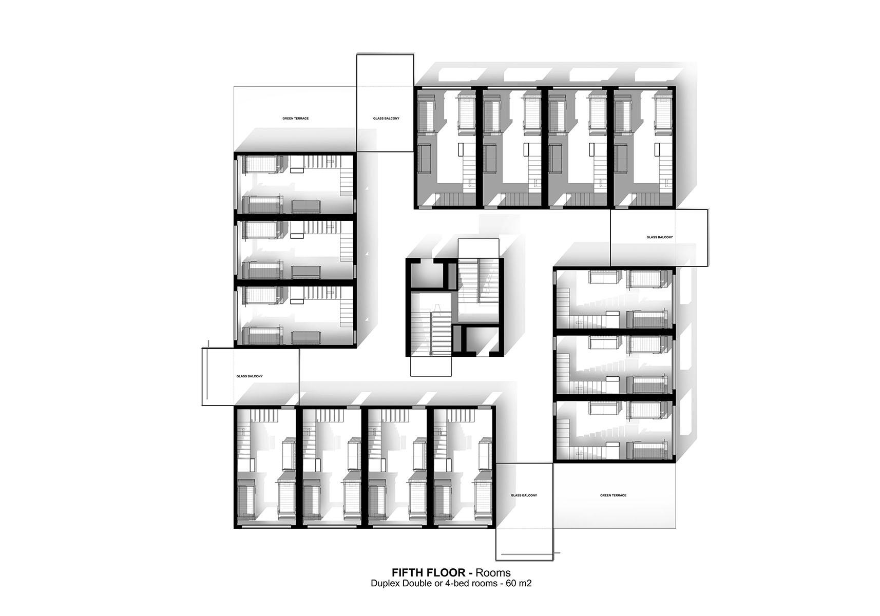 Genoa - A G Tehrani Design Studio - 10 - Section