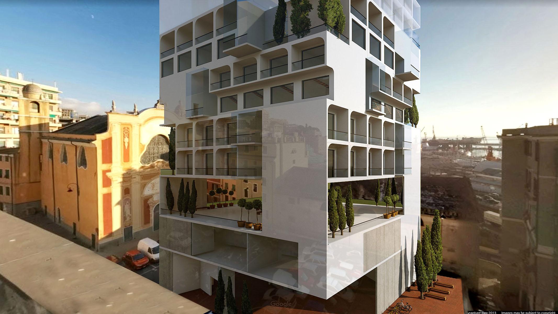 Genoa - A G Tehrani Design Studio - 16 - Section