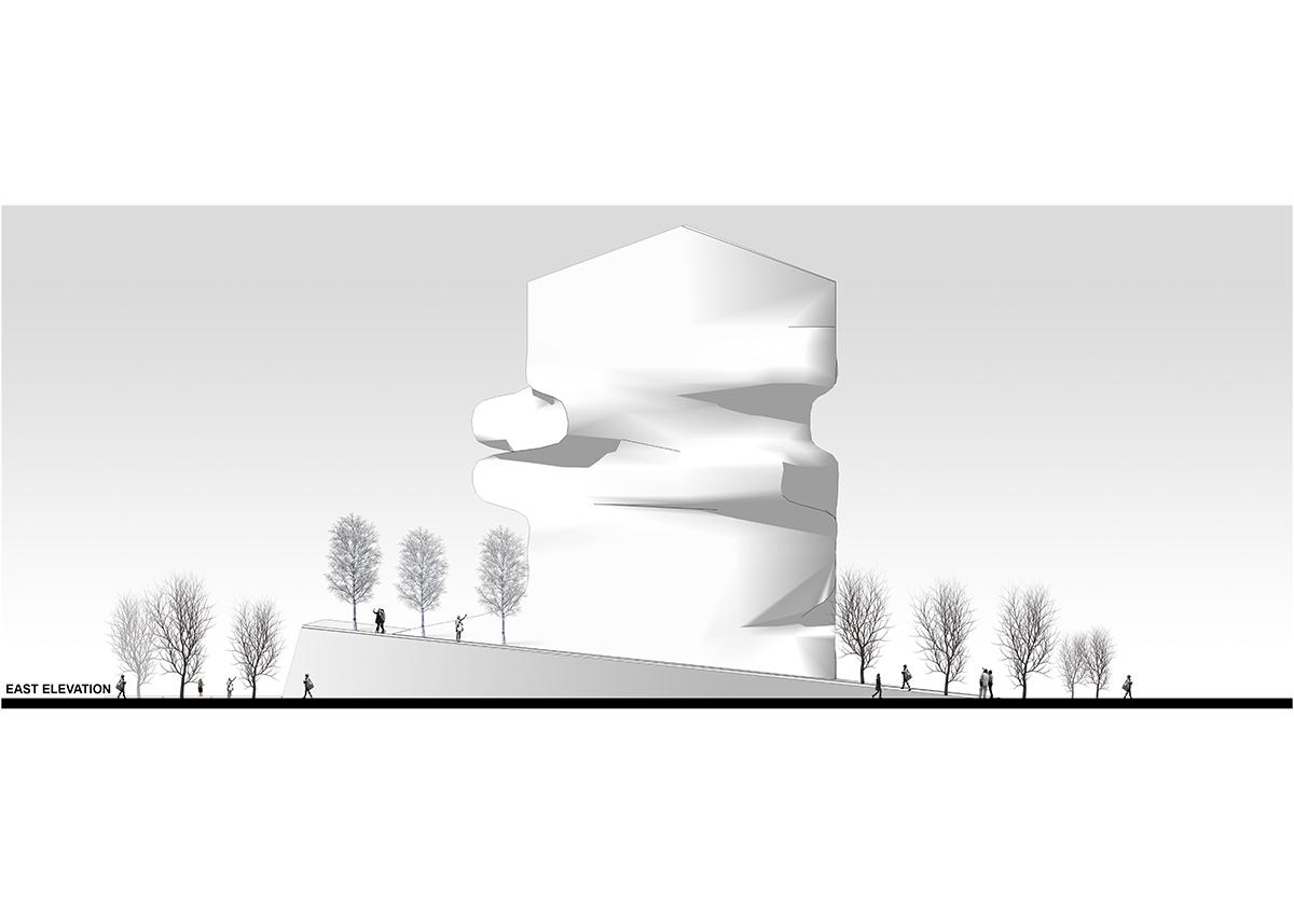 ghazaal-la'li-Oslo-commercial-elevation